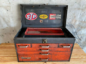 Vintage Rem Line Toolbox 6-Drawer