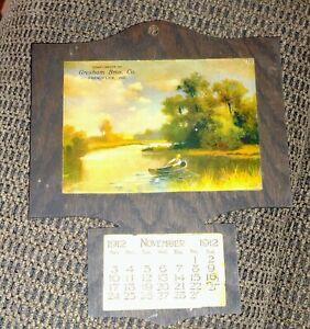 Gresham Bros Co. Calendar French Lick Indiana