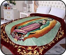 Hiyoko Virgin Mary Mink Blanket Throw Bedspread Comforter Coverlet 90 x 75