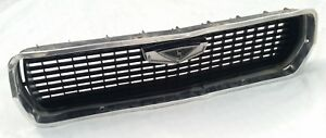 MAZDA 808 FLAT NOSE EARLY GRILLE BLACK WITH BADGE & CHROME SURROUND SUIT RX3