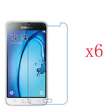6 x Ultra HD Clear Screen Protector Film Shield For Samsung Galaxy J3 (2016)