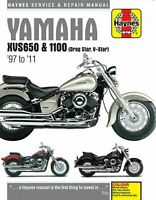 Yamaha XVS650 Drag Star XVS1100 V-Star Haynes Manual 4195 NEW