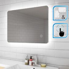 LED Bathroom Mirror Modern Style Rectangular Illuminated Lighted IP44 700x500mm