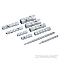 Silverline 8pc Box Spanner Metric Set 8-22mm Plumber Plumbing Tubular Nut wrench