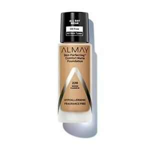 Almay Skin Perfecting Comfort Matte Foundation Warm Cashew