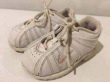 Baby Girl Nike Shoes 6C Pink White EUC