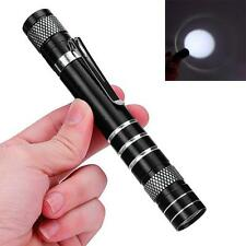 Small Mini 1200LM High Power Torch Cree Q5 LED Tactical Flashlight AA Lamp Light