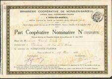 BRASSERIE COOPÉRATIVE DE MONS-EN-BAROEUL (59) (W)