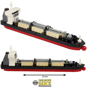 Tanker Ship Gas Cargo Boat - Limited Run - Over 200 Parts | All parts LEGO