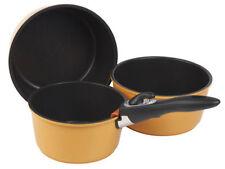 Ollas y cacerolas de cocina color principal naranja de aluminio
