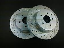 P2M REAR BRAKE ROTOR DISCS FOR NISSAN 350Z INFINITI G35 BREMBO ONLY - PHASE 2
