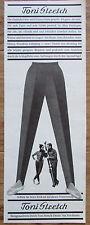 TONI STRETCH Hose original Zeitungswerbung aus 1963 Werbung Reklame