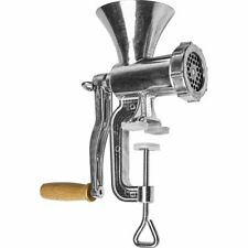 Meat Grinder Mincer - Manual Machine Food Alumi./Stainless Steel - Cookie Maker