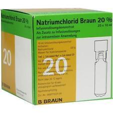 NATRIUMCHLORID 20% MPC Elektrolytkonzentrat 20X10ml PZN 3158351