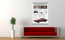 """1978 BMW 633 CSI COUPE AD PRINT WALL POSTER PICTURE 33.1""""x23.4"""""""