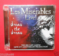 rare jewel box 2 cd les miserables live the musical dream the dream i miserabili