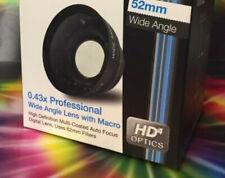 0.43x WIDE ANGLE LENS 52mm to DMC- FZ40 FZ45 FZ47 FZ48 FZ100 FZ150 FZ200 FZ300