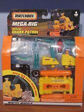 Matchbox Mega Rig Rescue Shark Patrol - Mattel 1998 - Rare HTF