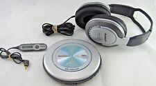 PANASONIC SL-CT520 Portable CD Player Headphones Remote