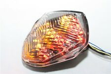 Led Tail Brake Light Turn Signals For Suzuki Gsx-R Gsxr1000 2003 2004 Clear
