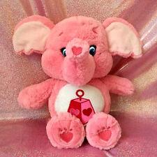 Care Bears Lotsa Heart Elephant Cousin Bear Plush Pink Stuffed Toy Doll