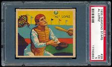 1935 Diamond Stars #28 Al Lopez PSA 5 (EX) HOF Brooklyn Dodgers
