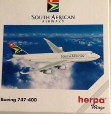 NEW HERPA WINGS 511162 SOUTH AFRICAN AIRWAYS BOEING 747-400 MIB 1:500 SCALE MINT