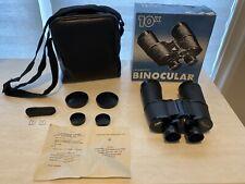 Vintage Russian Stem БПЦ 10x50 Binoculars & Case W Box - Minor Tiny SPOT ON LENS