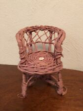 Wicker Doll/toy chair 5.25�