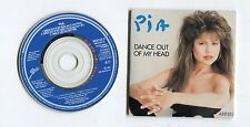 Pia Zadora 3-INCH cd-maxi DANCE OUT OF MY HEAD © 1988 dressed-down + Dub Mix