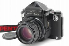 【Exc+++++】Pentax 6X7 67 Eyelevel M-Up Camera + SMC T 105mm F2.4 Lens From Japan