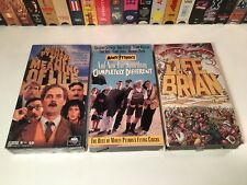 Monty Python Comedy Vhs Lot of 3 Meaning Of Life Of Brian Completely Different