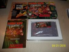 Donkey Kong Country (Super Nintendo, 1994) - COMPLETE IN BOX LOOK HTF