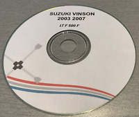 2003-2007 Suzuki LT-F500F Vinson Factory Service Repair Manual on CD