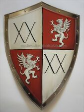Shield of arms - metal Coat of Arms shield, battle shield