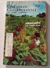 Organic Gardening Magazine Amaranth Gentle Giant August 1976 122316rh