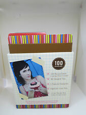 Love Elsie recipe idea box scrapbooking layouts
