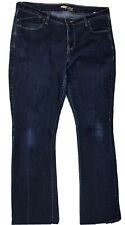 Old Navy The Flirt Womans  Bootcut Style Blue Jeans Size 12 Dark Wash