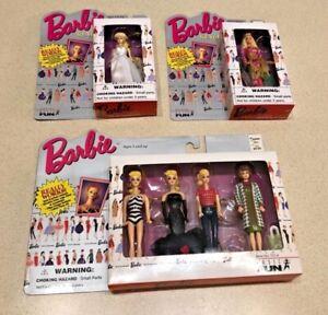 Barbie Keychain Lot of 6 - 4 Keychain set + 2 Singles - NIB?unopened