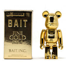 BAIT Gold Bar 999.99 Be@rbrick Medicom 100% Bearbrick