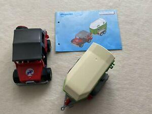 Playmobil Jepp Geländewagen Auto mit Pferde Anhänger 4189 Safari Ranch