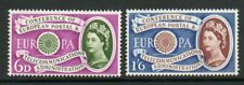 GB 1960 Europa Telecoms U/M stamps