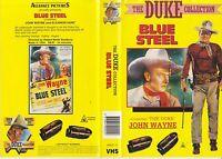 BLUE STEEL (1934) - Aussie Re-Issue - John Wayne B & W Classic Early Western VHS