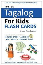 Tuttle Tagalog Flash Cards for Kids