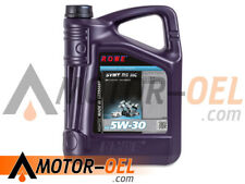 5 Liter ROWE HIGHTEC SYNT RS SAE 5W-30 HC Motoröl Made in Germany