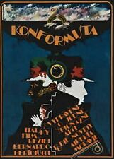 THE CONFORMIST Amazing Original Czech Poster BERNARDO BERTOLUCCI