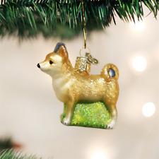 OLD WORLD CHRISTMAS CHIHUAHUA DOG GLASS CHRISTMAS ORNAMENT 12281