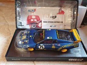 Ferrari 512 BB LM 1980 1/18 BBR #75 Team J.M.S Racing