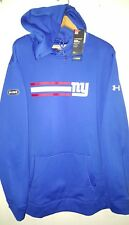 Under Armour NFL Combine NY Giants Jersey Pullover Hoodie: 3XL (NWT) 1288440-400