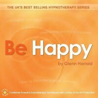 BE HAPPY - GLENN HARROLD  AUDIO BOOK HYPNOSIS CD NEW